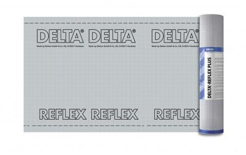 плёнка с алюминиевым рефлексным слоем delta-reflex plus