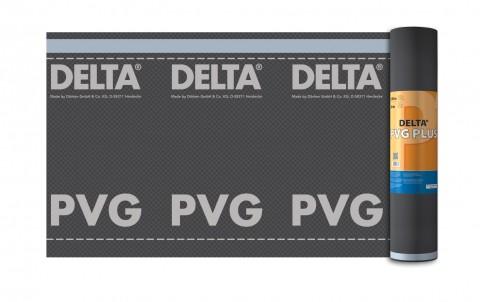гидро- и пароизоляционная плёнка delta-pvg
