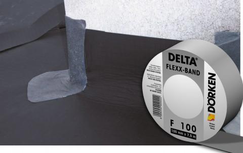 delta-flexx-band f 100 односторонняя самоклеящаяся лента