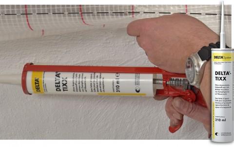 delta-tixx клей для пароизоляционных пленок, картридж