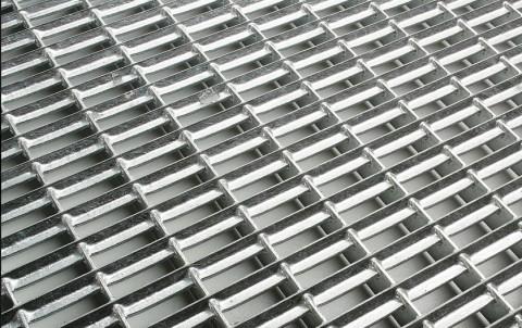 Решетка из оцинкованной стали для поддона ACO Vario 75х50 см