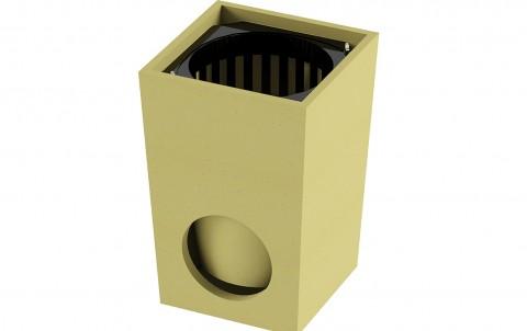 Дождеприемник ACO SELF из полимербетона без решетки 25х25х32 см