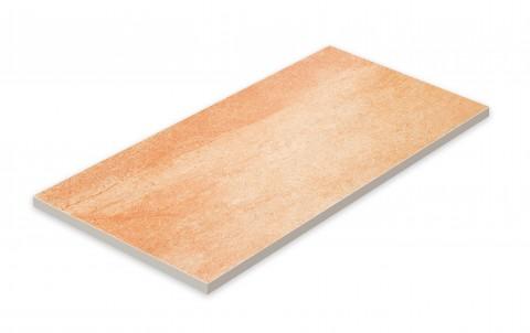 Террасная напольная плитка STROEHER Terio Tec X  927 rosenglut, размер 794x394x20