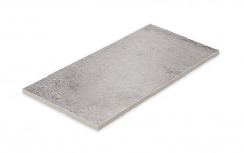 Террасная напольная плитка STROEHER Gravel Blend  962 grey, размер 794x394x20