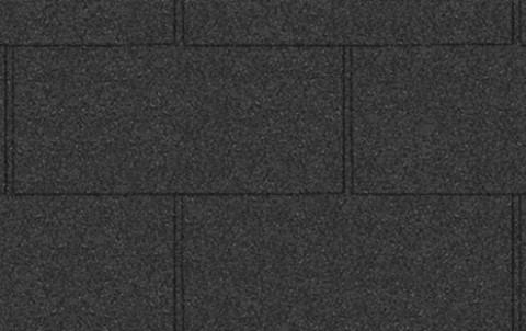 Гибкая черепица ICOPAL Плано XL черн.антрацит 2,3 кв.м