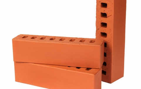 Облицовочный кирпич LODE Janka поверхность гладкая, формат 0,5 NF красный