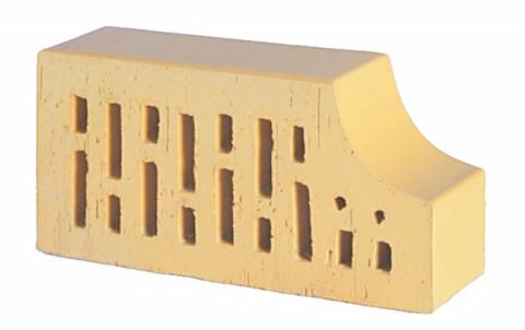 Фигурный кирпич LODE Sarmite F13 250x120x65 желтый