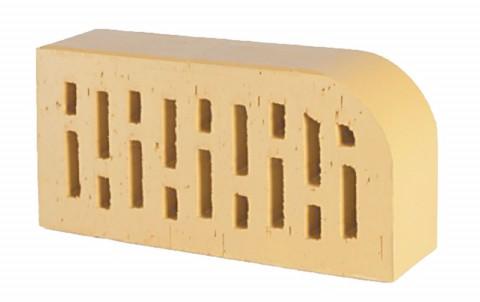 Фигурный кирпич LODE Sarmite F15 250x120x65 желтый