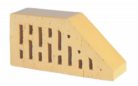 Фигурный кирпич LODE Sarmite F16 250x120x65 желтый
