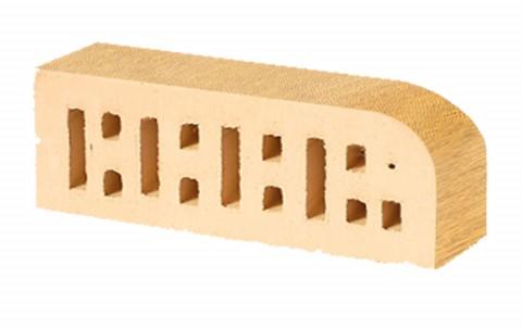 Фигурный кирпич LODE Asa Sarmite F 15 250x85x65 желтый
