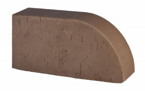 Фигурный кирпич LODE Brunis F 17 250x120x65 коричневый