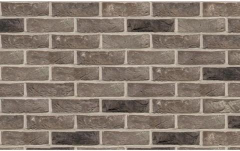 кирпич ручной формовки TERСA Cinder Coal-White / Grijs-Zwart-Wit WFD65 215x102x65