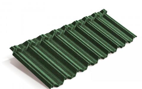 Композитная черепица Metrotile MetroClassic, зелёный