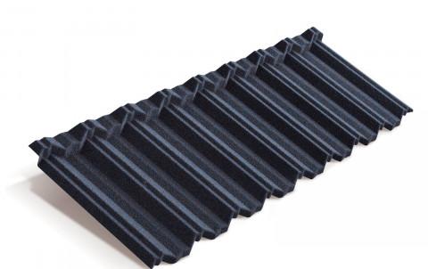 Композитная черепица Metrotile MetroClassic, тёмно-синий