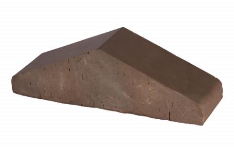 Перекрытиe забора большoe Brunis LODE 310x100x88 коричневый