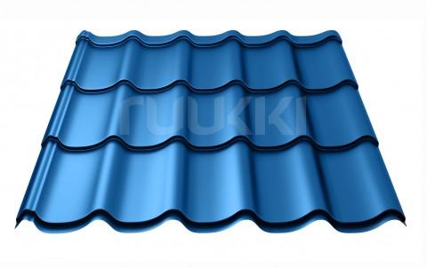 металлочерепица ruukki Monterrey Standart с покрытием Polyester, цвет rr35