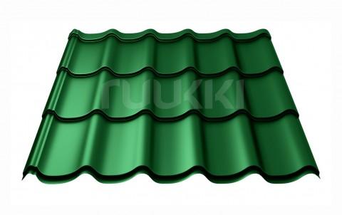 металлочерепица ruukki Monterrey Standart с покрытием Polyester, цвет rr37