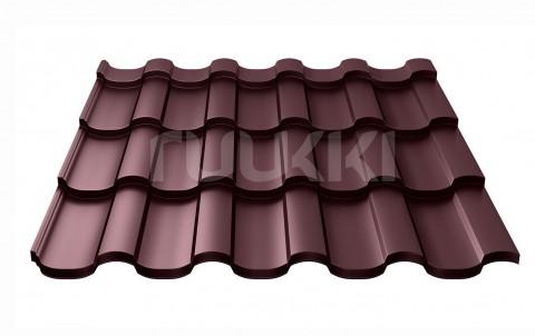 металлочерепица ruukki Adamante с покрытием Purex, цвет rr779