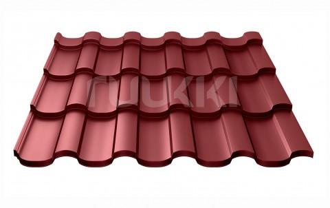 металлочерепица ruukki Adamante с покрытием Polyester, цвет rr29