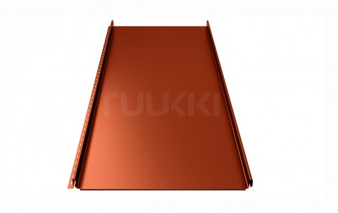 фальцевая кровля ruukki Classic с покрытием Pural Matt/Pural matt BT, цвет rr750