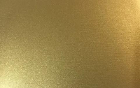 Фальцевая кровля Alunova алюминиевая лента, Gloss+, золото, цвет Temple Gold 0124S