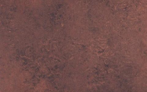 Фальцевая кровля Alunova алюминиевая, объемный ромб, 235х235, Texcover, сталь кортен, цвет 90281-2