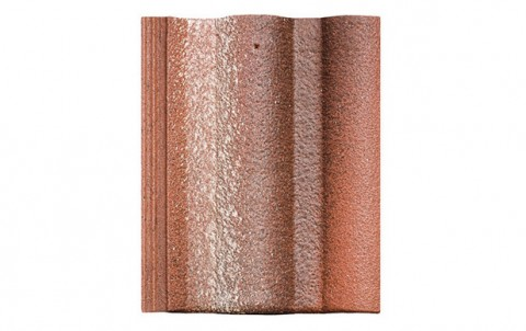 Цементно-песчаная черепица (минеральная) BRAAS  Адриа, красный