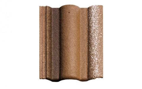 Цементно-песчаная черепица (минеральная) BRAAS  Адриа, коричневый