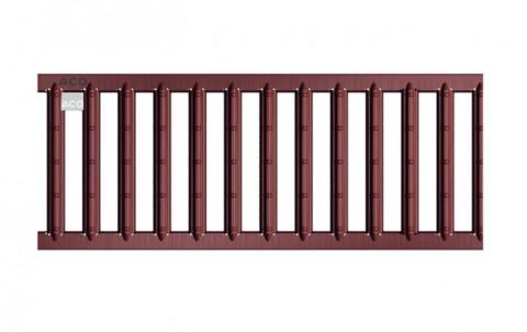 Решетка из оцинкованной стали с порошковым покрытием для каналов ACO SELF 1м