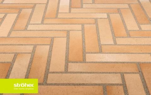 Тротуарная плитка STROEHER SPALTKLINKER, 240x115, цвет 123