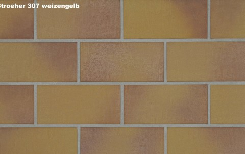 Тротуарная плитка STROEHER SPALTKLINKER, 240x115, weizengelb