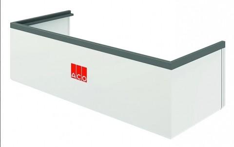 Надставка из пластика для светового приямка ACO Therm  размером 80х60х40, нагрузка: пешеходная
