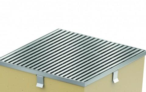 Решетка из нержавеющей стали для дождеприемника ACO SELF