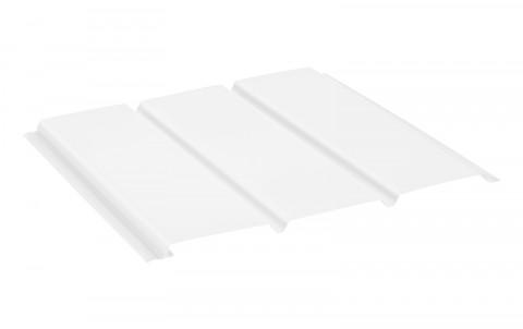 Софит AQUASYSTEM без перфорации алюминий, L=1 м.п., покрытие PE, цвет RAL9010
