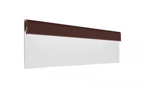 Финишная планка L=2 м.п., покрытие PE, цвет RAL8017