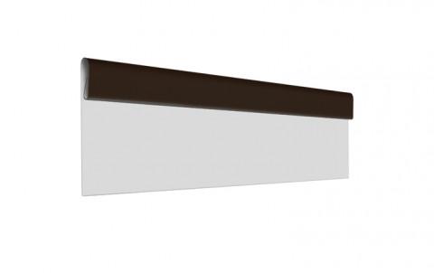 Финишная планка L=2 м.п., покрытие PE, цвет RR32
