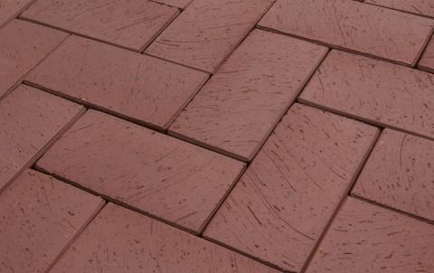 Клинкерная брусчатка LODE Brunis 200x100x52 коричневый