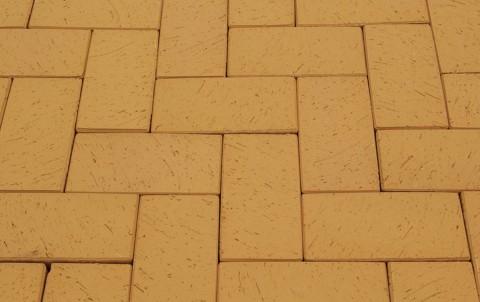 Клинкерная брусчатка LODE Dzintra 200x100x52 желтый