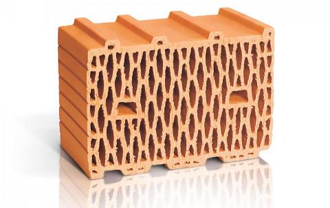 Поризованный керамический блок ЛСР поризованный рядовой 10,7 NF