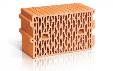 Поризованный керамический блок ЛСР поризованный рядовой 11,2 NF