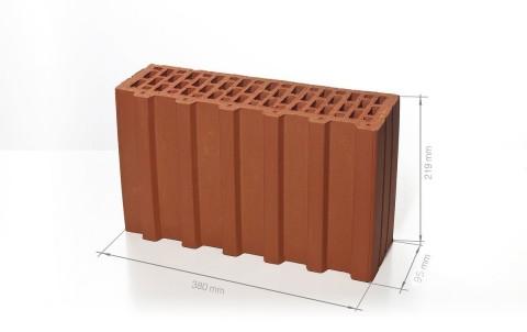 Поризованный керамический блок BRAER Ceramic Thermo 5,4 NF