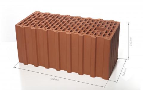 Поризованный керамический блок 51 BRAER Ceramic Thermo 14,3 NF M75
