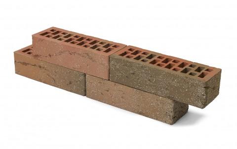Облицовочный кирпич Браер, баварская кладка, кора дуба с песком, 0,7 нф