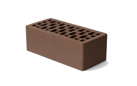 Облицовочный кирпич Браер светло-коричневый гладкий 1,4 нф