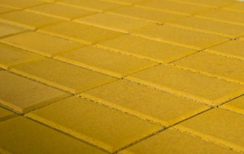 Тротуарная плитка BRAER Прямоугольник, желтый, h= 40