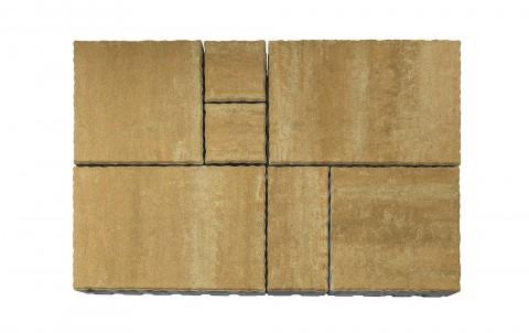 Тротуарная плитка BRAER Патио, саванна, h= 60