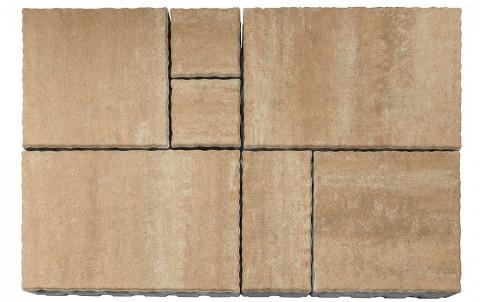 Тротуарная плитка BRAER Патио, плато, h= 60