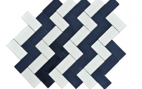 Тротуарная плитка BRAER Прямоугольник, черный, h= 70