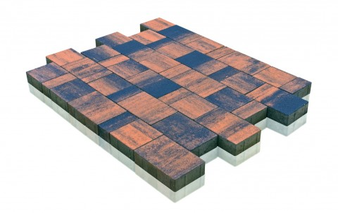 Тротуарная плитка BRAER Старый город Ландхаус, техас, h= 60