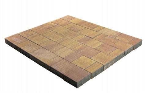 Тротуарная плитка BRAER Старый город Ландхаус, рассвет, h= 60